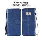 Samsung Galaxy S8 Plus Wallet Case Blue
