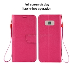 Samsung Galaxy S8 Plus Wallet Case Pink