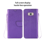 Samsung Galaxy S8 Wallet Case Purple