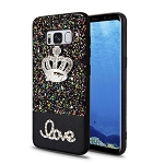 Samsung Galaxy S8 Hybrid Diamond Case Black