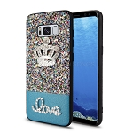 Samsung Galaxy S8 Hybrid Diamond Case Blue
