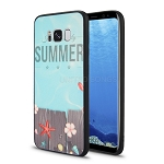 Samsung Galaxy S8 New Hybrid Design Case Summer/Blue