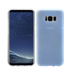 Samsung Galaxy S8 New Hybrid Slim Case Dark Blue/Clear