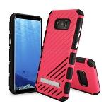 Samsung Galaxy S8 New Hybrid Case With Kickstand Pink