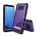 Samsung Galaxy S8 New Hybrid Case With Kickstand Purple