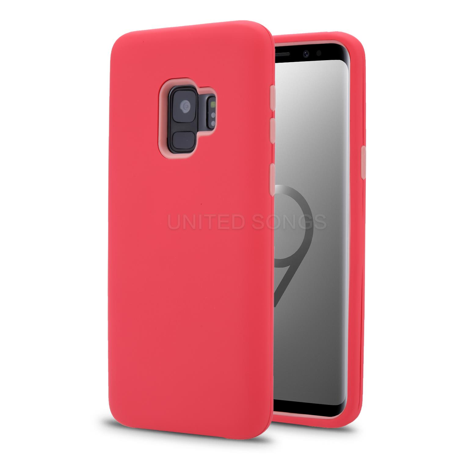 iPhone 11 Pro New Triple Layer Hybrid Protective Case Red/Pink