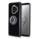 Samsung Galaxy S9 New Pop Holder Stylish Case Black
