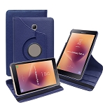 New Samsung Galaxy Tab A 8 Inch T380/T385 (2017) 360 Degree Rotating Leather Case Blue