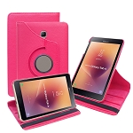 New Samsung Galaxy Tab A 8 Inch T380/T385 (2017) 360 Degree Rotating Leather Case Pink