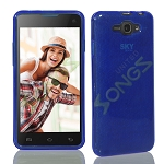 SKY Devices 4.5D TPU(Gel) Case Blue
