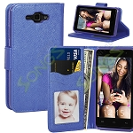 SKY Devices 4.5D Wallet Case Blue