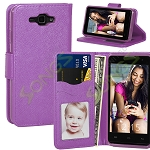 SKY Devices 4.5D Wallet Case Purple