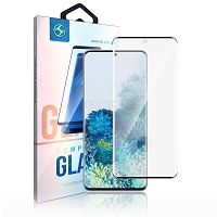 Samsung Galaxy S20 Plus Premium Full Size Tempered Glass Screen Protector Black