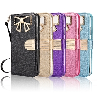 Samsung Galaxy S20 New Sparkle Diamond Wallet Case
