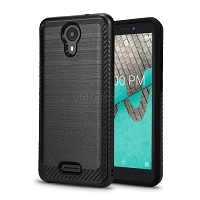 Wiko Ride(Boost Mobile) Hybrid Case Black