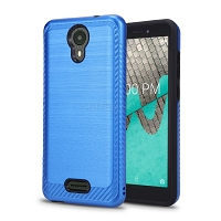 Wiko Ride(Boost Mobile) Hybrid Case Blue
