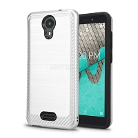 Wiko Ride(Boost Mobile) Hybrid Case Silver