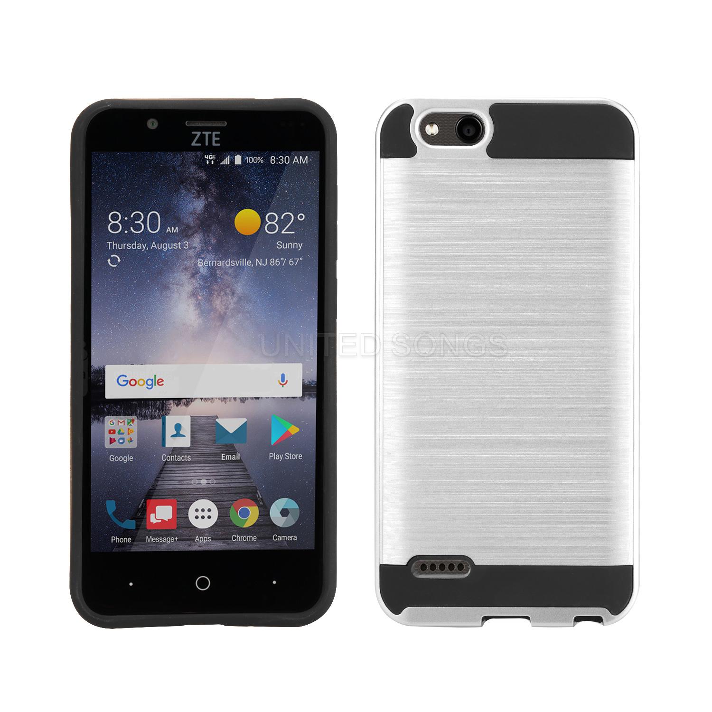 ZTE Tempo X N9137 Hybrid Case Silver