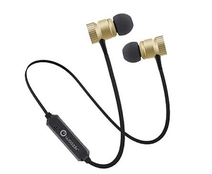 M900 Bluetooth Wireless Earphones With Enhanced Bass & Amazing Sound Gold