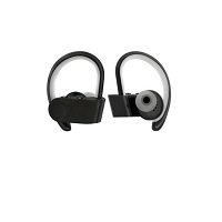 New Relay True Wireless Headphones Black