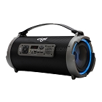 New K1202 LED Bluetooth Wireless Speaker Black