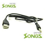 USB A Male to 3.5mm Stereo Headphone Jack Cable