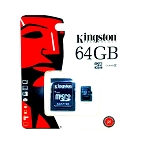 64GB microSD Card With SD Card Adapter