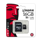 16GB microSD Card With SD Card Adapter