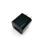 USB Travel/Home Charger Adapter Black
