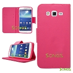 Samsung Galaxy Grand 2 G7106 Wallet Case High Pink