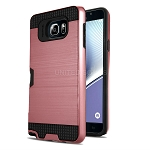 Samsung Galaxy A80/A90 New Hybrid Case With Card Holder Rose Gold