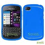 BlackBerry Q10 TPU/Gel Case Blue