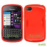 BlackBerry Q10 TPU/Gel Case Red