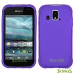 Kyocera Hydro XTRM C6721 TPU(Gel) Case Purple