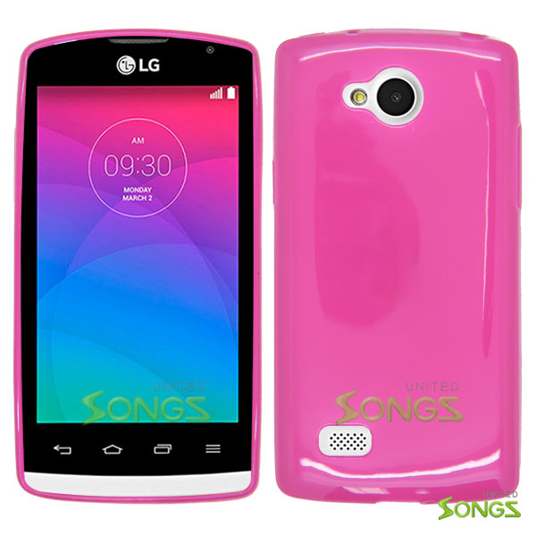 LG Joy H220 TPU(Gel) Case Pink