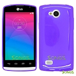 LG Joy H220 TPU(Gel) Case Purple