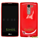 LG H443 H445 C70 Spirit Escape2 Logos H550F TPU(Gel) Case Red