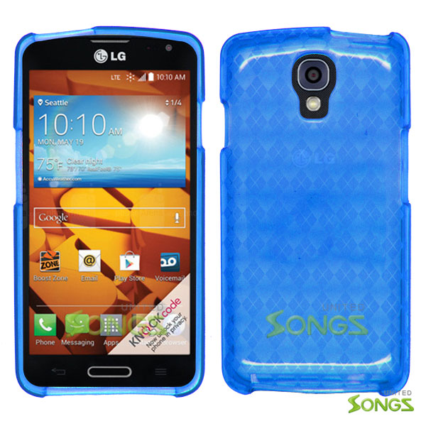LG LS740 Volt F90 (Sprint/Boost Mobile/Virgin Mobile) TPU(Gel) Case Blue