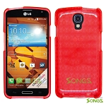 LG LS740 Volt F90 (Sprint/Boost Mobile/Virgin Mobile) TPU(Gel) Case Red