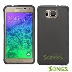 Samsung Galaxy Alpha G850 TPU(Gel) Case Black