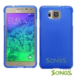 Samsung Galaxy Alpha G850 TPU(Gel) Case Blue