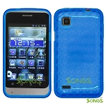 ZTE V788 Illustra TPU(Gel) Case Blue