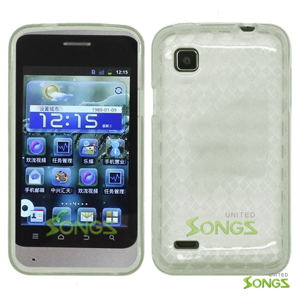 ZTE V788 Illustra TPU(Gel) Case Clear