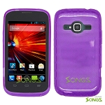 ZTE Concord II Z730(T-mobile, MetroPCS) TPU(Gel) Case Purple