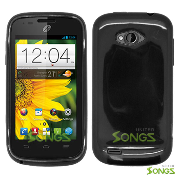 ZTE Savvy Z750C TPU(Gel) Case Black