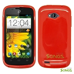 ZTE Savvy Z750C TPU(Gel) Case Red