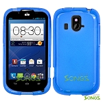 ZTE Overture Z995 TPU(Gel) Case Blue
