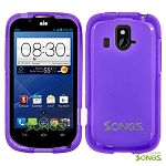 ZTE Overture Z995 TPU(Gel) Case Purple