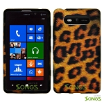 Nokia Lumia 820 Soft Design#1 Yellow Cheetah