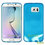 Samsung Galaxy S6 Edge TPU(Gel) Case Blue